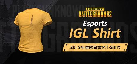 PUBG亚太联赛IGL黄色T恤