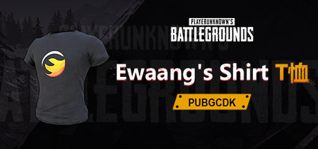 PUBG Ewaang's Shirt 短袖T恤