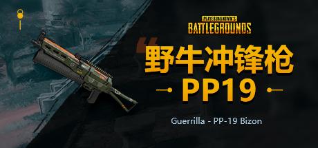 PUBG野牛冲锋枪PP19 Bizon
