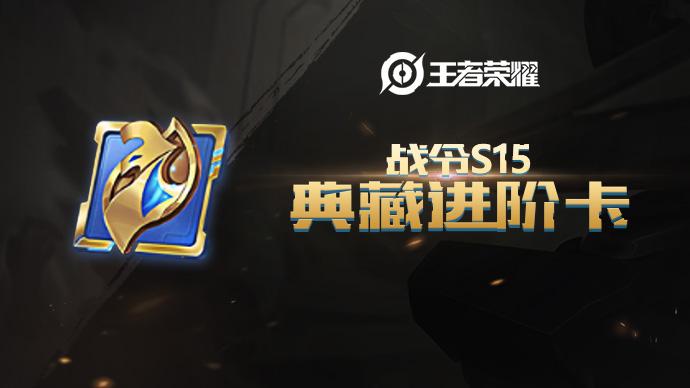 王者荣耀 道具 战令S15典藏进阶卡游戏截图1