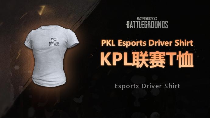 PUBG韓國職業聯賽PKL白色T恤游戲截圖1