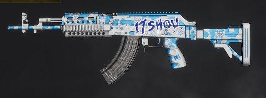 绝地求生17shou M762