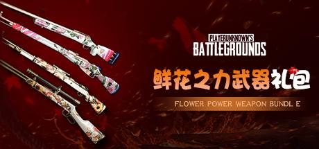 绝地求生鲜花之力武器大礼包