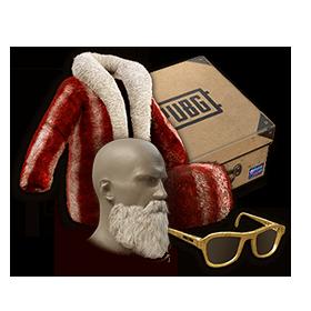 PUBG圣诞节皮肤胡椒薄荷礼物套装