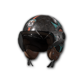 PUBG战斗机头盔