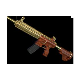 PUBG镀金M416
