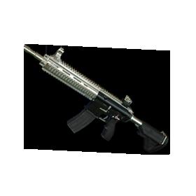 PUBG镀银M416